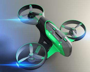 le drone infirmier.