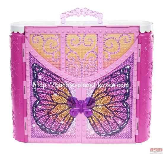 Le château de Barbie Mariposa & The Fairy Princess refermé