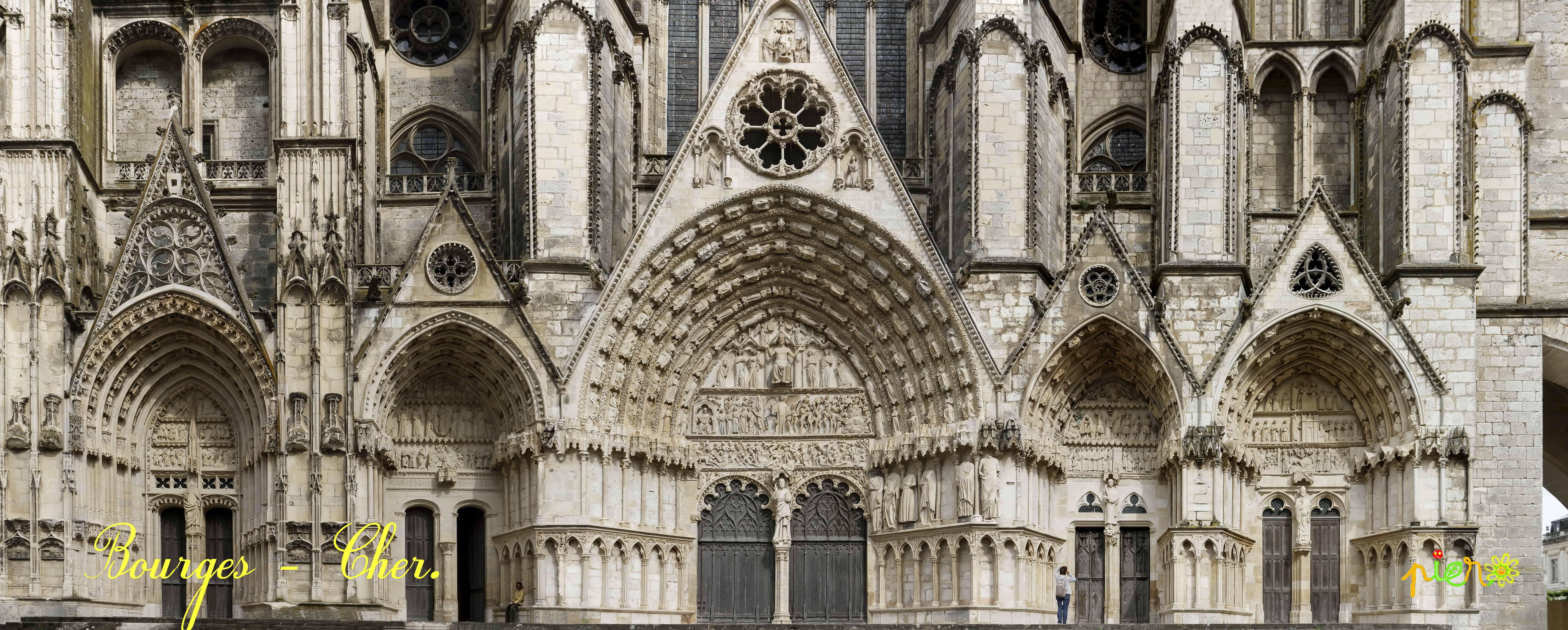 Cathédrale St. Etienne, Bourges - Cher