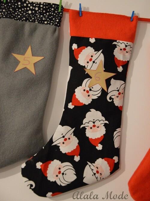 Les 24 chaussettes du Père Noël