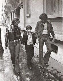 Décembre 1973 rue Jean-Goujon