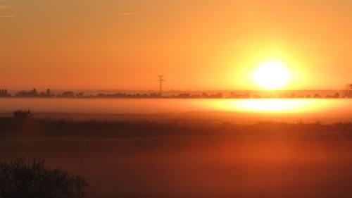 ... lever de soleil!
