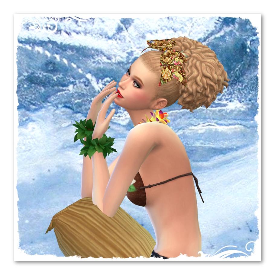 TS4 Sim: Océane des îles