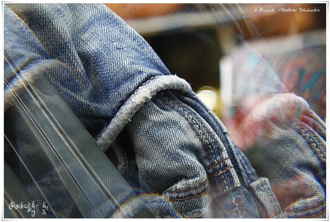 Jeans en prisme