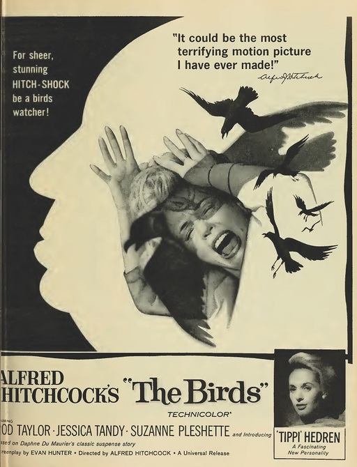 THE BIRDS BOX OFFICE USA 1963