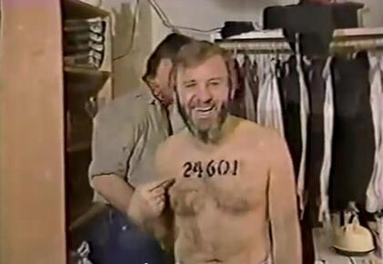 Colm Wilkinson  Broadway  Miz 1987