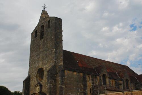 L'église de Domme et son clocher Porche