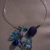 collier blue 14euros