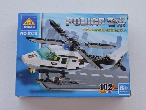 KAZI - Hélicoptère police (102 pièces)