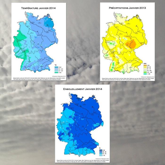 climat janvier 2014