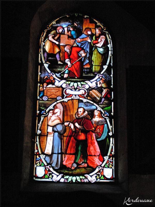 Vitraux de la Basilique Notre Dame de Verdelais