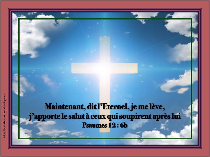 L'Eternel apporte le salut - Psaumes 12 : 6b