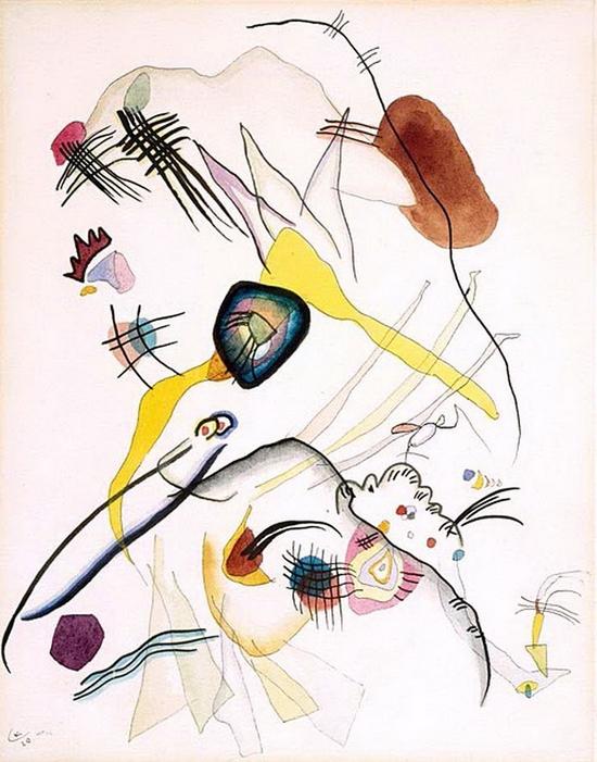 Wassily Kandinsky, Promenade, 1920