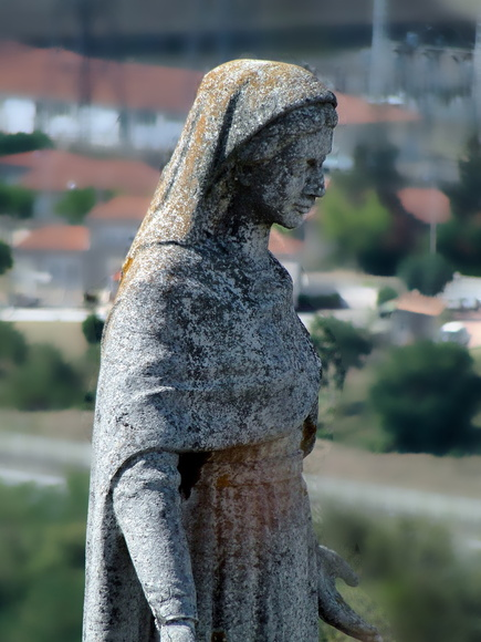 La Vierge de la colline du Châtelard, Châteauneuf sur Isère