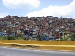 Les Ranchos de Caracas (= Favelas du Brésil)