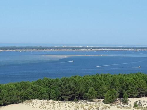 La presqu'ile du Cap Ferret et son phare