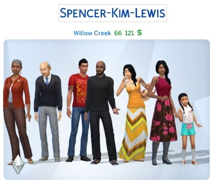 Semaine 2 - Quartier Willow Creek - Foyer Spencer-Kim-Lewis