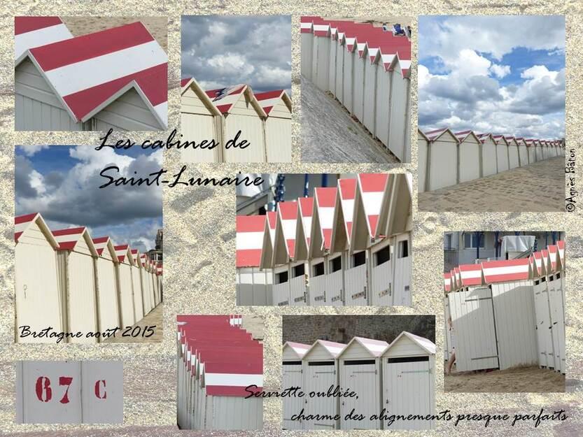 les cabines de Saint-Lunaire