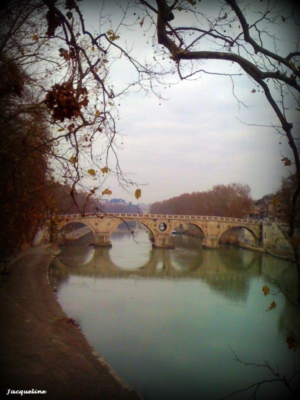 Rome en hiver