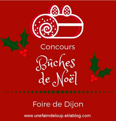 Concours bûches de noël - foire de Dijon 2018