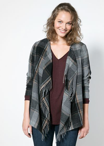 Tweed shopping chez Mango