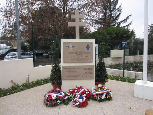 * Chemins de mémoire : une nouvelle stèle de la 1ère DFL à Aix-en Provence  (19 janvier 2019)