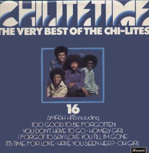 "The Chi-Lites : Album "" Greatest Hits Vol. 2 "" Brunswick Records BL 754208 [ US ]"
