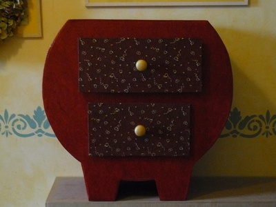 Commode esprit chinois