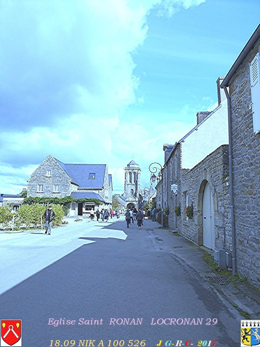 Eglise Saint  RONAN de  LOCRONAN  3/3     D   19/09/2018