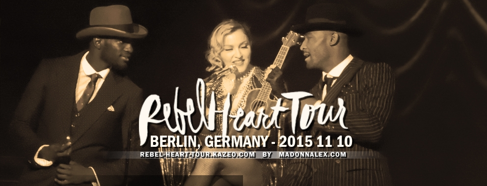 Madonna Rebel Heart Tour Berlin 1