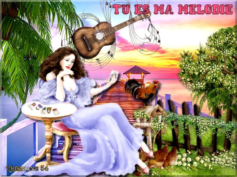 Défi Marjolaine tu es ma Mélodie !
