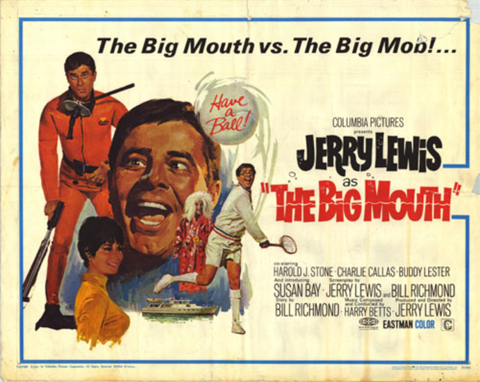 JERRY LA GRANDE GUEULE -  JERRY LEWIS BOX OFFICE 1967