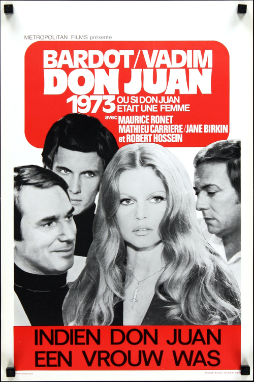DON JUAN 73 - BOX OFFICE BRIGITTE BARDOT 1973
