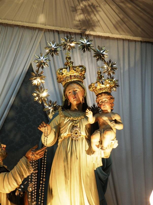 La Madonne du Rosaire