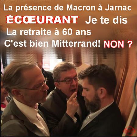 Mélenchon colère Jarnac