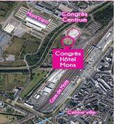♥♥ Centre de congrès montois MICX (Mons International Congress Experience) de l'architecte Daniel Libeskind