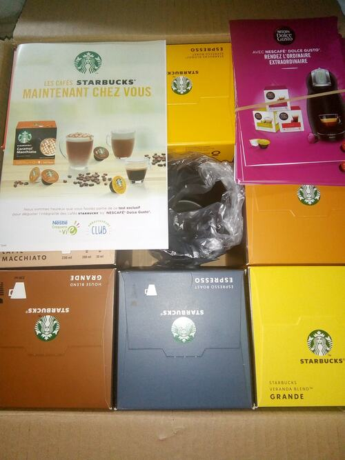 Starbucks by Dolce Gusto (Croquons la vie)