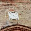 AUVILLAR (09/2016) Porte de la chapelle de Sainte Catherine le Chrisme remplacé en 2010