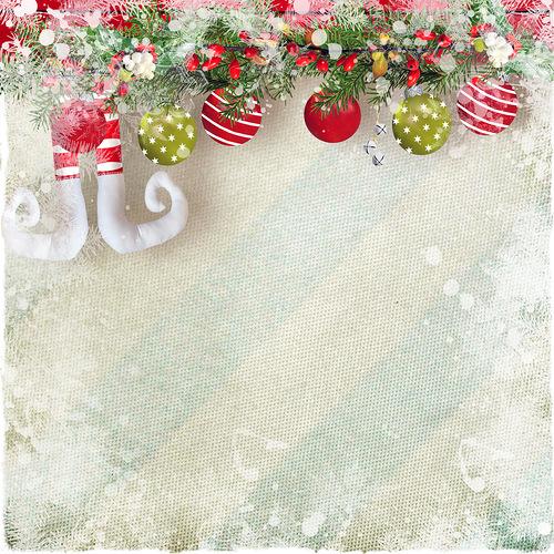 Fonds de Noël Pour Créations Série 12