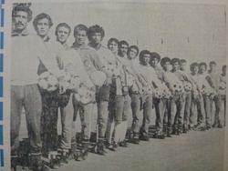 """21.12.1979 au Stade du """"5 juillet 1962"""" EN-Maroc 3-0  remplaçant sans jouer"""