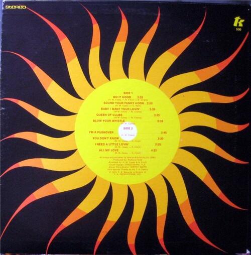 "KC & The Sunshine Band : Album "" Do It Good "" T.K. Records TK 500 [ US ]"