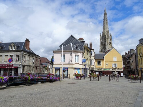 Harfleur en Normandie (photos)