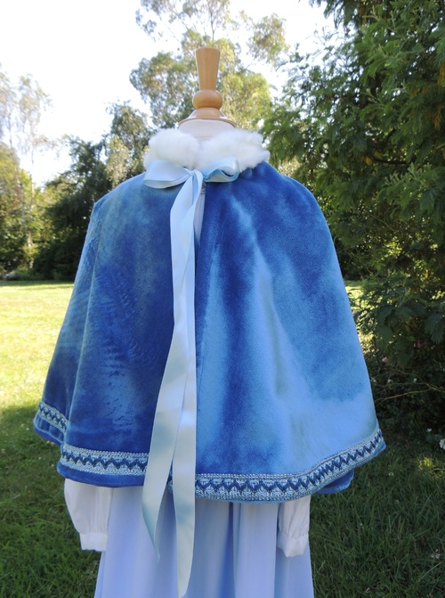 Capeline pour enfant ... Child Cloak