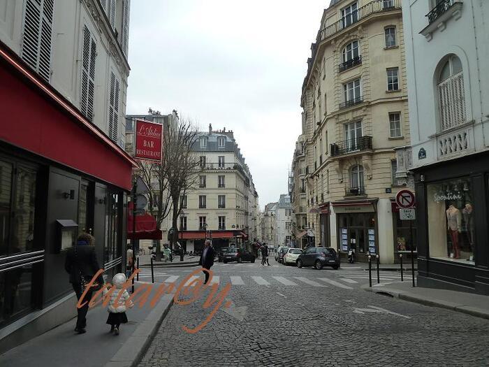 balade dans Paris... vers Montmartre...