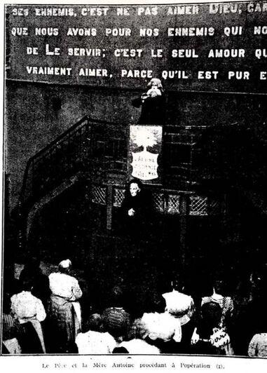 Une visite au Temple Antoine (La Vie Mystérieuse 25 juin 1913)