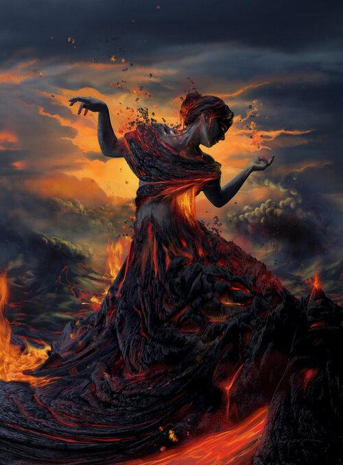 La Danse de la créature de feu