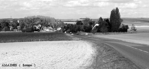 today  journée du village de mon enfance ( ALLAINES- 80 )