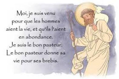 Je suis Le Bon Pasteur...