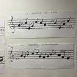 Portées musicales