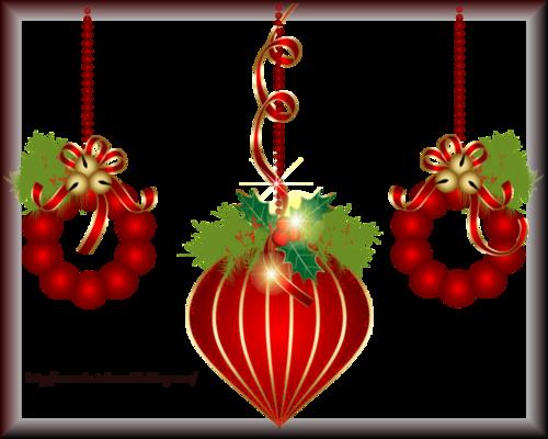 Tube Boule de Noël 2963